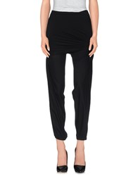 Donna Karan Trousers Casual Trousers Women Black