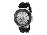 Guess U0674g3 Black Silicone Sport Watches Multi