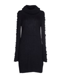 Blauer Dresses Short Dresses Women Dark Blue
