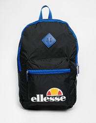 Ellesse Packaway Backpack Black