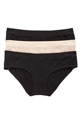 Naked Women's 3 Pack Hipster Panty