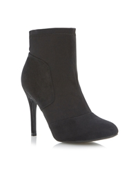 Head Over Heels Nikki High Heel Ankle Boot Black