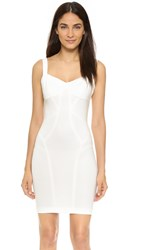 Ali And Jay Seamed Sheath Dress White