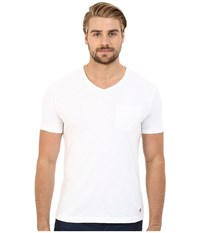 Original Penguin Bing V Neck Bright White Men's T Shirt