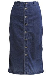 Ag Jeans Thea Denim Skirt Blue Denim