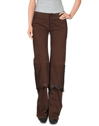 Dirk Bikkembergs Trousers Casual Trousers Women Cocoa