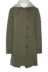 Thakoon Convertible Washed Cotton Twill Coat