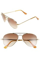 Women's Randolph Engineering 'Concorde' 57Mm Polarized Aviator Sunglasses