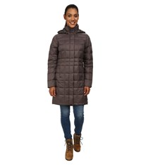 Columbia Hexbreaker Long Down Jacket Mineshaft Women's Jacket Gray