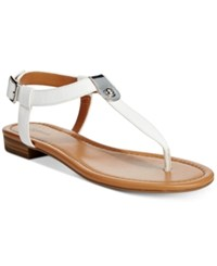 Styleandco. Style And Co. Baileyy Thong Sandals Only At Macy's Women's Shoes White