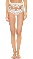 For Love And Lemons Lucia High Waisted Panty White
