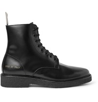 Common Projects Standard Leather Boots Black