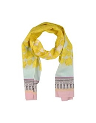 Miriam Ocariz Oblong Scarves Yellow