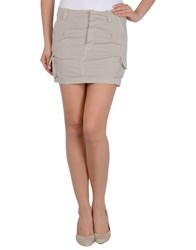 .. Merci Skirts Mini Skirts Women Beige