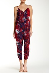 Eight Sixty Printed Sleeveless Jumpsuit Multi