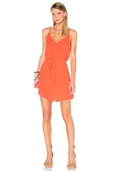 Eight Sixty Tequila Sunrise Dress Red