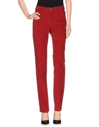 Paul And Shark Trousers Casual Trousers Women Red