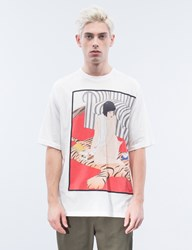 3.1 Phillip Lim Tiger Graphic S S T Shirt