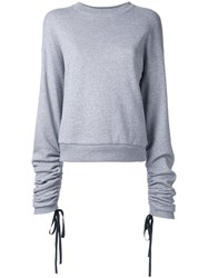 Le Ciel Bleu Loose Fit Sweatshirt Grey
