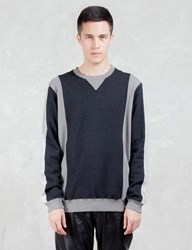 Vallis By Factotum Two Tone Sweatshirt