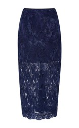 Alice Mccall Electric Dreams Skirt Navy
