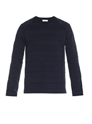 Balenciaga Crew Neck Wool Blend Sweater