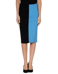 Space Style Concept Skirts 3 4 Length Skirts Women Azure