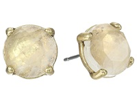 Lucky Brand Rock Crystal Stud Earring Gold Earring