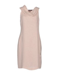 Andreaturchi Short Dresses Light Pink