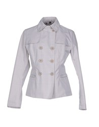 Peuterey Suits And Jackets Blazers Women Light Grey