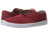 Emerica The Romero Laced Burgundy Men's Skate Shoes