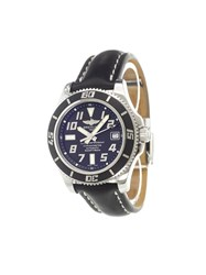 Breitling 'Superocean 42 Abyss Black' Analog Watch