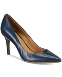Calvin Klein Women's Gayle Pointed Toe Pumps Women's Shoes Navy