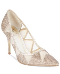 Adrianna Papell Addison Jimmy Pumps Women's Shoes Gold