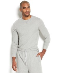 Michael Kors Men's Modal French Terry Crew Neck Long Sleeve Sweatshirt