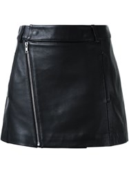 Dion Lee Biker Mini Skirt Black
