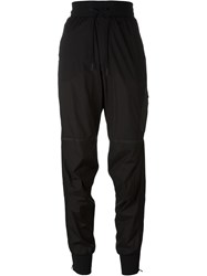Y 3 Striped Tapered Track Pants Black