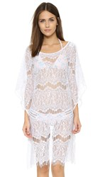 Peixoto Lace Ruana Cover Up White