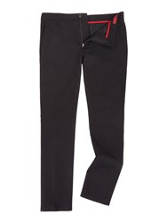Hugo Heldor Cotton Trousers Black