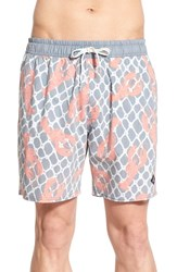 Men's Sperry 'Fresh Catch' Print Swim Trunks