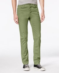 American Rag Men's Slim Fit Stretch Jeans Only At Macy's Dusty Olive