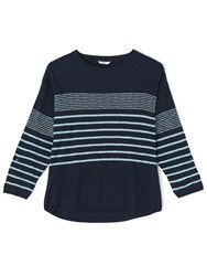 Dash Navy Stripe Jumper
