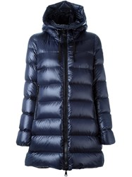 Moncler 'Suyen' Padded Coat Blue