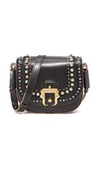 Paula Cademartori Petite Babeth Cross Body Bag Black Multi