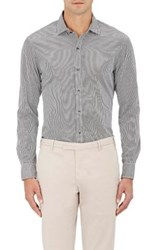 Ralph Lauren Black Label Men's Striped Poplin Shirt White