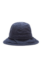 Engineered Garments Explorer Hat In Blue