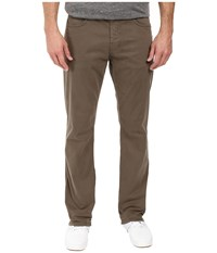 Mavi Jeans Myles Casual Straight In Dusty Olive Twill Dusty Olive Twill Men's Brown