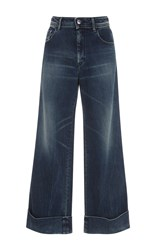 Seafarer Harry Mid Rise Cropped Jeans Dark Wash