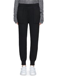 Rag And Bone 'Scout' French Terry Jogging Pants Black