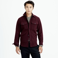 J.Crew Wallace And Barnes Wool Overshirt